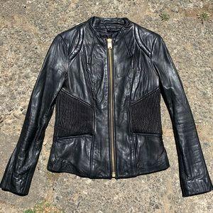 Via Spiga vintage genuine lamb leather jacket
